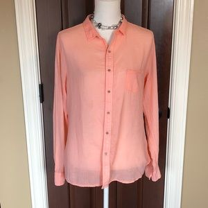 Fresh Produce peach shirt